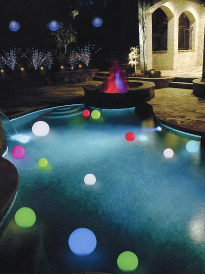 led lit party orbs